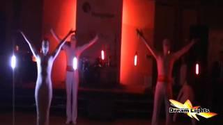 Светодиодное шоу Dream Lights Show Ankara(Светодиодное шоу на выставке в отеле