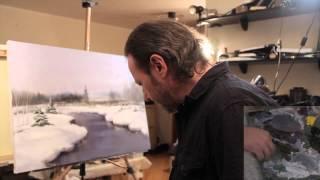 """НОВИНКА! """"Зимний пейзаж"""" видеоурок от Игоря Сахарова"""