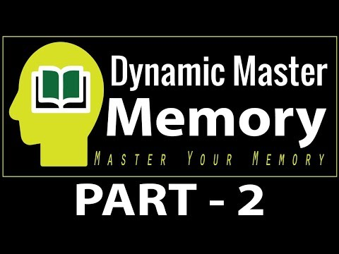 Dynamic Master Memory Online Workshop Part - 2 | By   MOYL TRAININGS