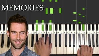 This is a step by piano tutorial on how to play memories maroon 5 -- learn amosdoll's methods (free 4-part video lessons) part 1: https://youtu...
