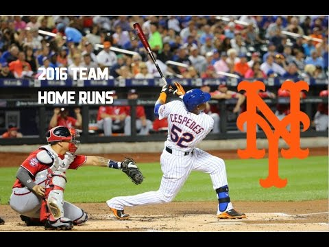 New York Mets | 2016 Home Runs (218)