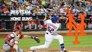 New York Mets | 2016 Home Runs (218)
