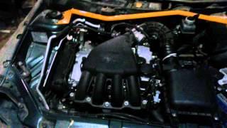 Куда уходит масло в двигателе Приоры при ДТП