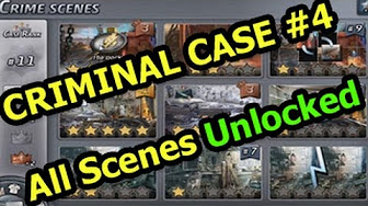 CRIMINAL CASE 4 All Scenes Unlocked ARREST SUSPECT