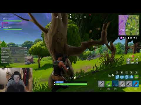 [Fortnite] 3x uni dropout gets hecking ROASTED by little sister