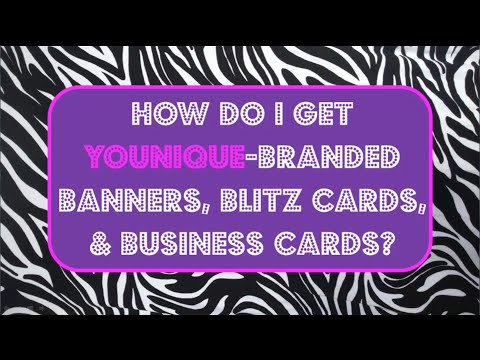 how to order your younique business cards and other marketing material - Younique Business Cards