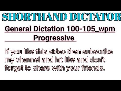 General matter 100_wpm!(progressive)!..
