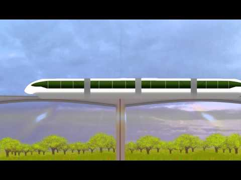 Short Monorail Animation using After...