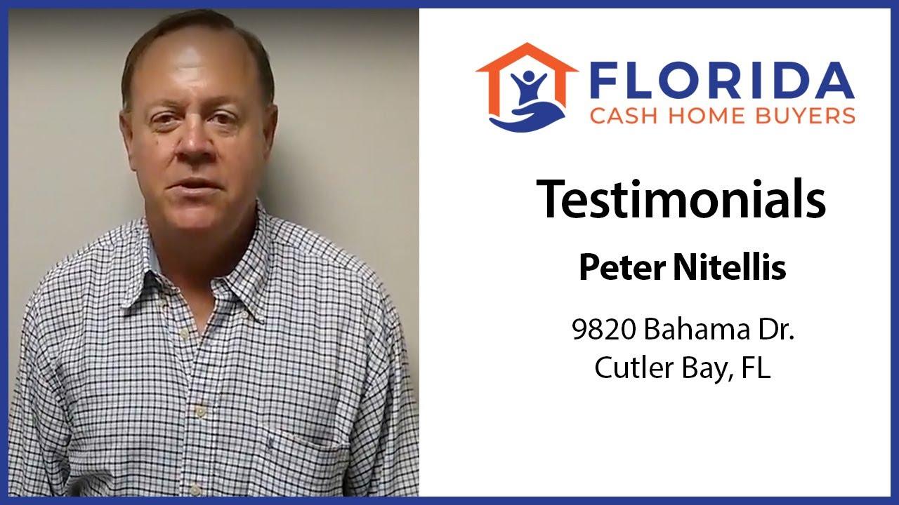 Peter's Testimonial - FL Cash Home Buyers