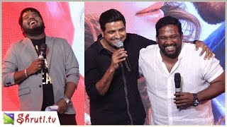 Robo Shankar - Sathish - DD - RJ Vignesh atrocities | Velaikkaran Audio Launch