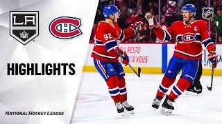 nhl-highlights-kings-canadiens-11-09-19