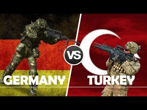 GERMANY VS TURKEY - Military Power Comparison 2017