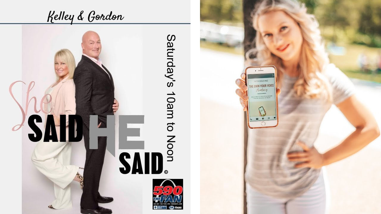 She Said He Said Show Interviews STL Vocal Coach, Gabrielle Stahlschmidt!