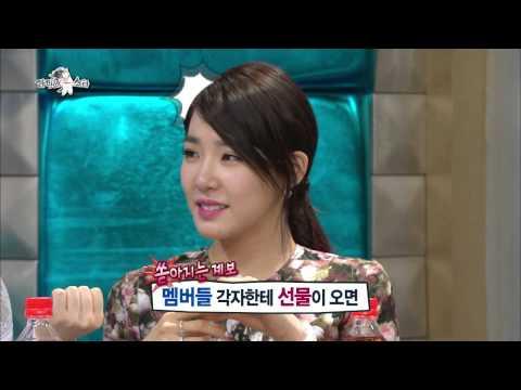 【TVPP】Tiffany(SNSD) - Pink Mania, 티파니(소녀시대) - 티파니 별명이 '핑크돼지'인 이유 @ Radio Star