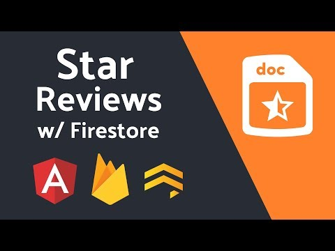 Star Review System from Scratch with Firestore + Angular