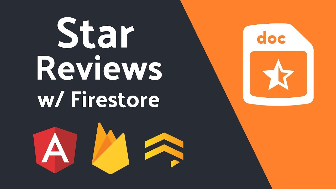 Build a Star Review System With Firestore | AngularFirebase