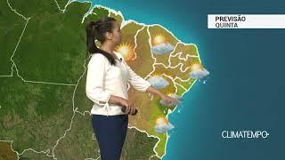 Previsão Nordeste – Chuva moderada em Salvador