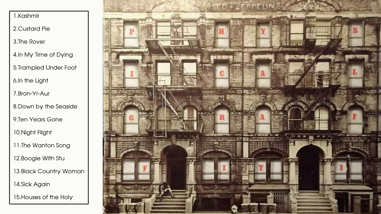 Physical Graffiti [Full Album 1975] - YouTube