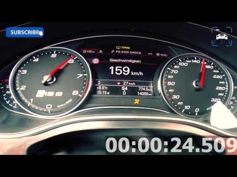 760 HP Audi RS6 C7 MTM Clubsport 4.0 TFSI Acceleration BRUTAL! 0-263 km/h Beschleunigung