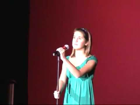 Jenna sings what I did for love