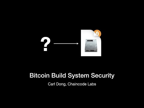 Bitcoin Build System Security | Carl Dong | Breaking Bitcoin 2019 Amsterdam