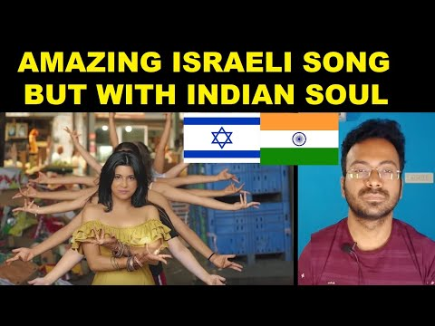 Israeli Song in Indian Style , Beautiful India -Israel Fusion of Cultures