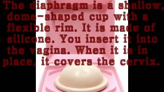 SEX WITH DIAPHRAGM TO CONTROL UNWANTED  PREGNANCY