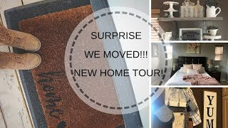 NEW HOME TOUR| FARMHOUSE 2019