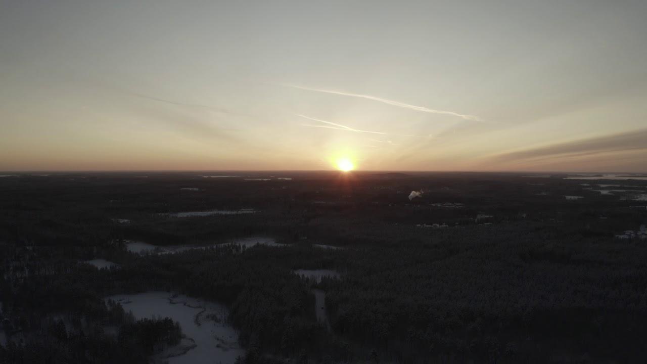 Auringonlasku Joensuu