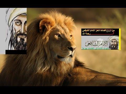 من اروع قصائد شعر  الامام الشافعي رحمه الله