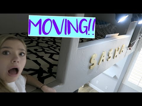I MOVED!! Moving Vlog! | Sasha Morga