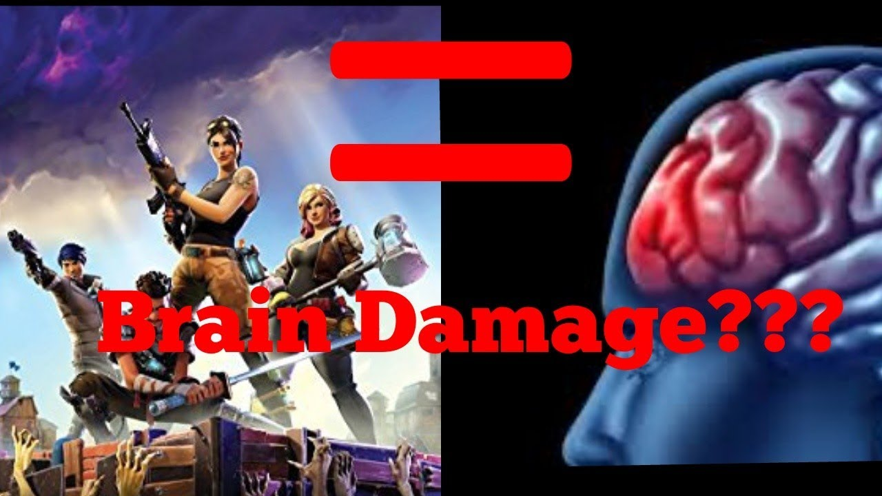 fortnite causes brain damage - how fortnite affects the brain