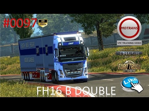 Euro Truck Simulator - #0097 SOUTH WEST FREIGHT B DOUBLE