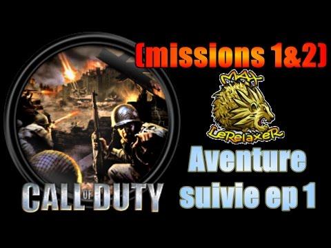 Call Of Duty classic Missions 1 et 2 - Walkthrough en français ( campagne  solo )