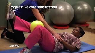 Postpartum exercises after 6 weeks