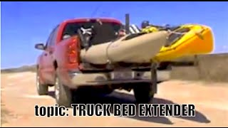 Yak'ntexas- Truck Bed Extender Vs Ladder Rack,  Kayak Fishing How To