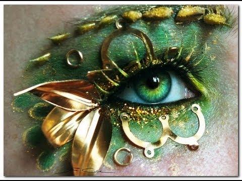 Шикарный макияж глаз. Глаз не оторвать. Фото