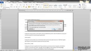 Microsoft Office Word урок 5 меню File