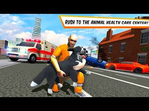 City Animal Transport Truck Rescue Dog games