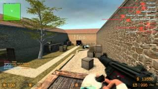 Let's Play Counter Strike : Source Zombie Mod #035 - Bunnyhop Hack + Script