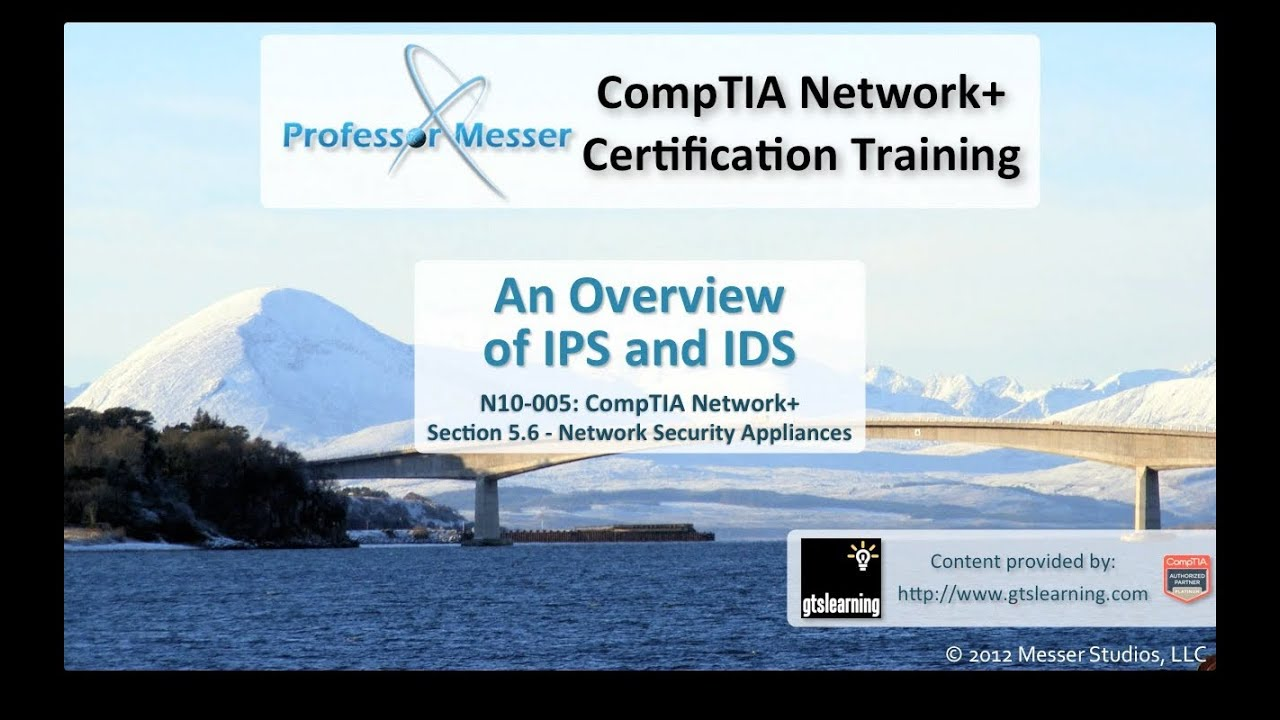 11/30 - Understanding IDSs and IPSs: CYBERSECURITY (LEVEL III) - 01