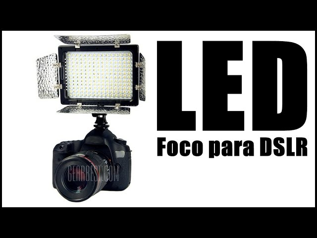 Foco Led Para Cámara Dslr Youtube