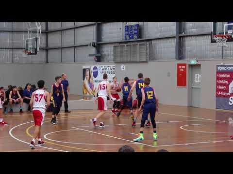 North Adelaide Rockets V. Brisbane Capitals, Australian U14 Club Championships 2017
