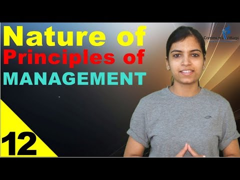 Nature of Principles of MANAGEMENT || WEB-SERIES