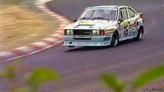 Skoda Rapid 130 H - SKODA Auto Obermann Nürburgring 1988