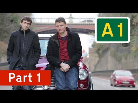 Geoff and Jay go up the A1 (part 1)