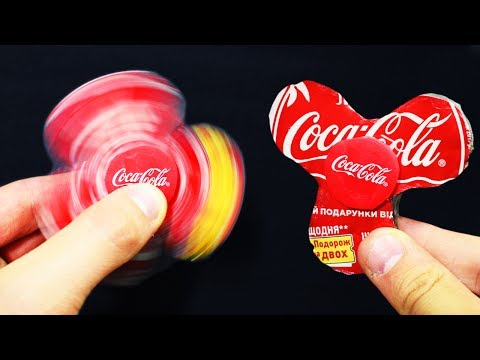 Thumbnail: How to make Spinner Toy From Coca Cola