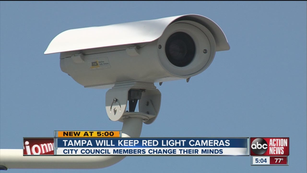 Tampa Reverses Decision On Red Light Camera