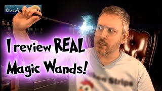 I Review Real Magic Wands!