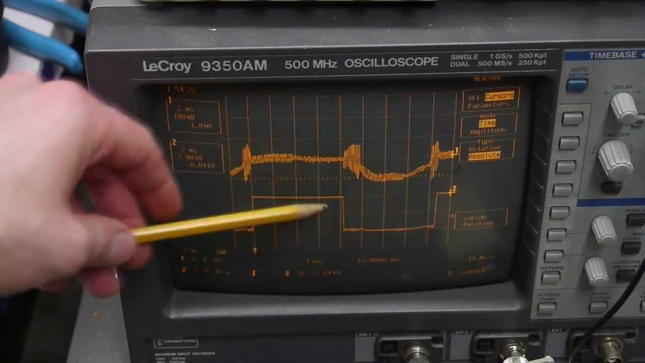 Measuring The Voltage And Current Of A Microwave Oven
